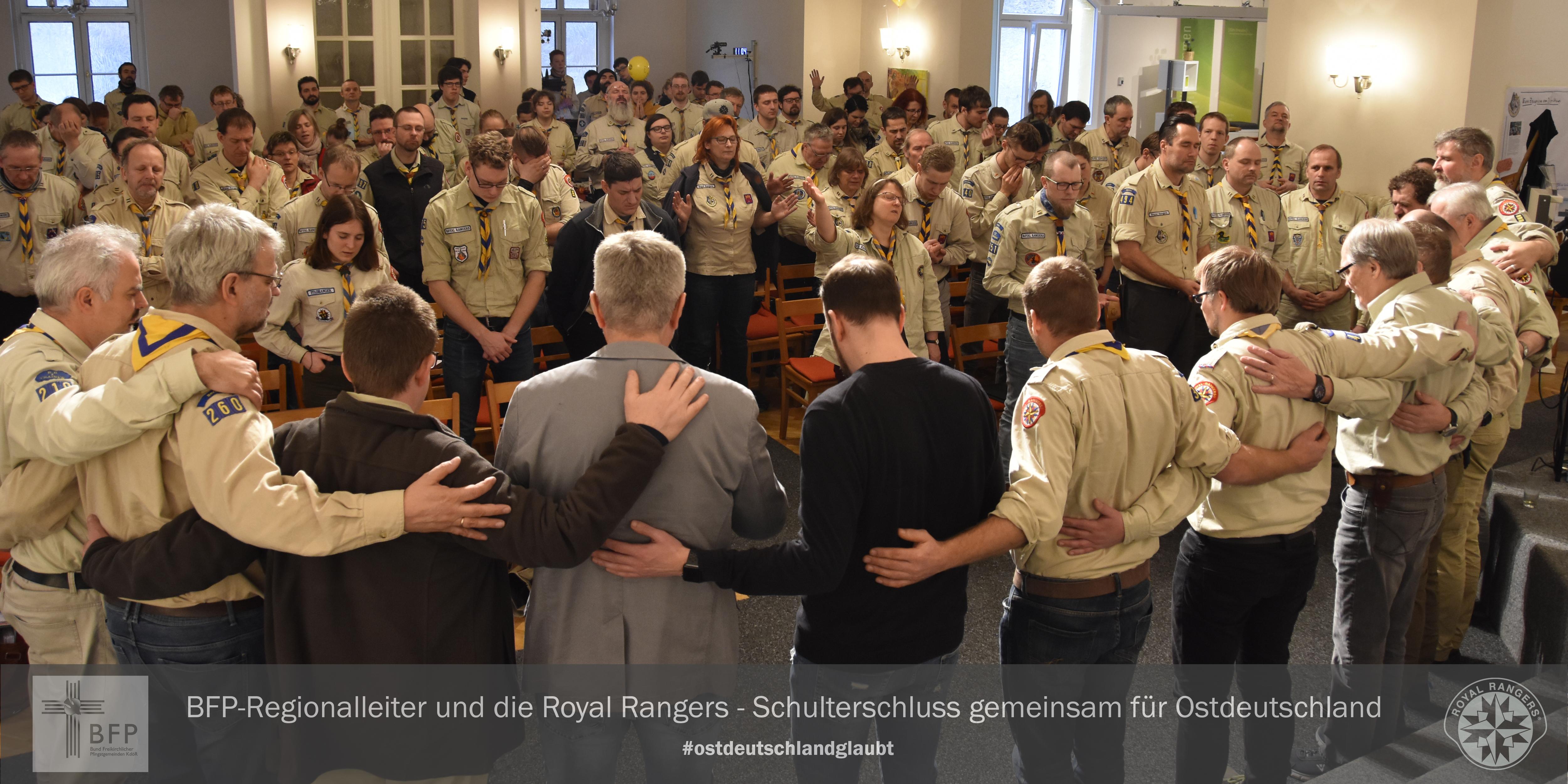 Royal Rangers und BFP: Hand in Hand für Ostdeutschland