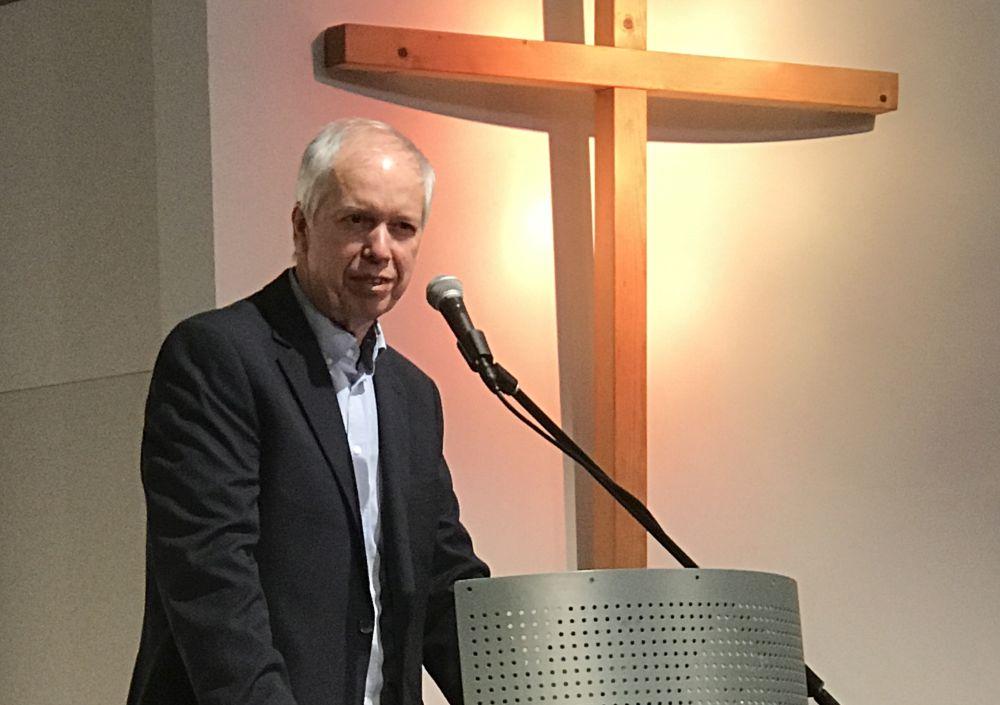 Beziehung zum Heiligen Geist – Altpräses auf der NRW-Reko