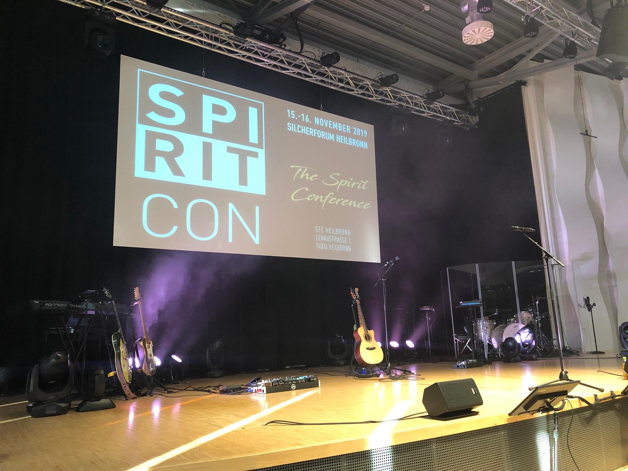 Tränen, Heilung, Befreiung: SpiritCon 2019 in der GEC Heilbronn