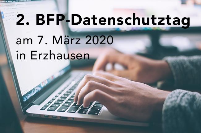 BFP-Datenschutztag – 7. März 2020