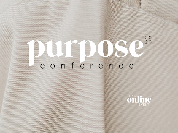 Purpose Conference 2020 - Online Event am 28.11.2020