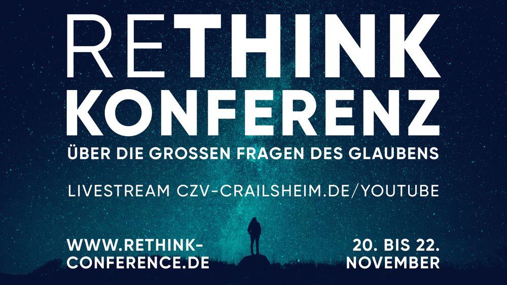 ReThink-Conference - vom 20. bis 22. November im Online-Format