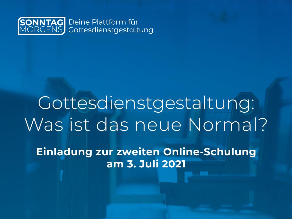 Online-Schulung zur Gottesdienstgestaltung am 3. Juli