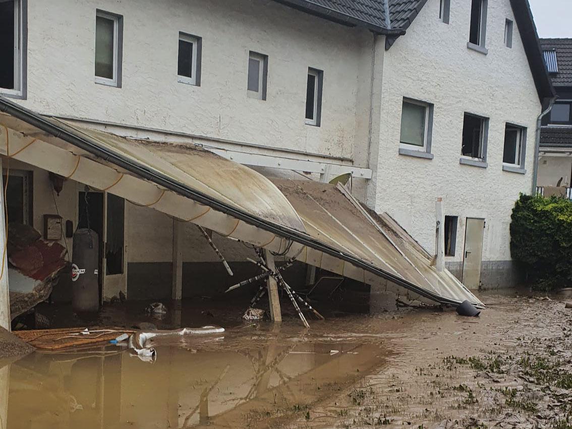 Hochwasserhilfe - finanzielle Unterstützung ist angelaufen