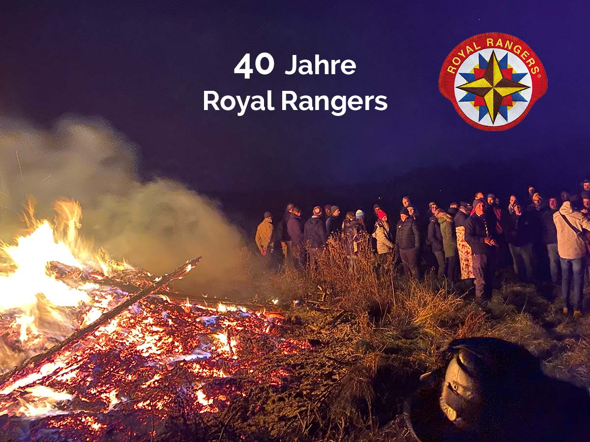 40 Jahre Royal Rangers - Festakt in Gotha