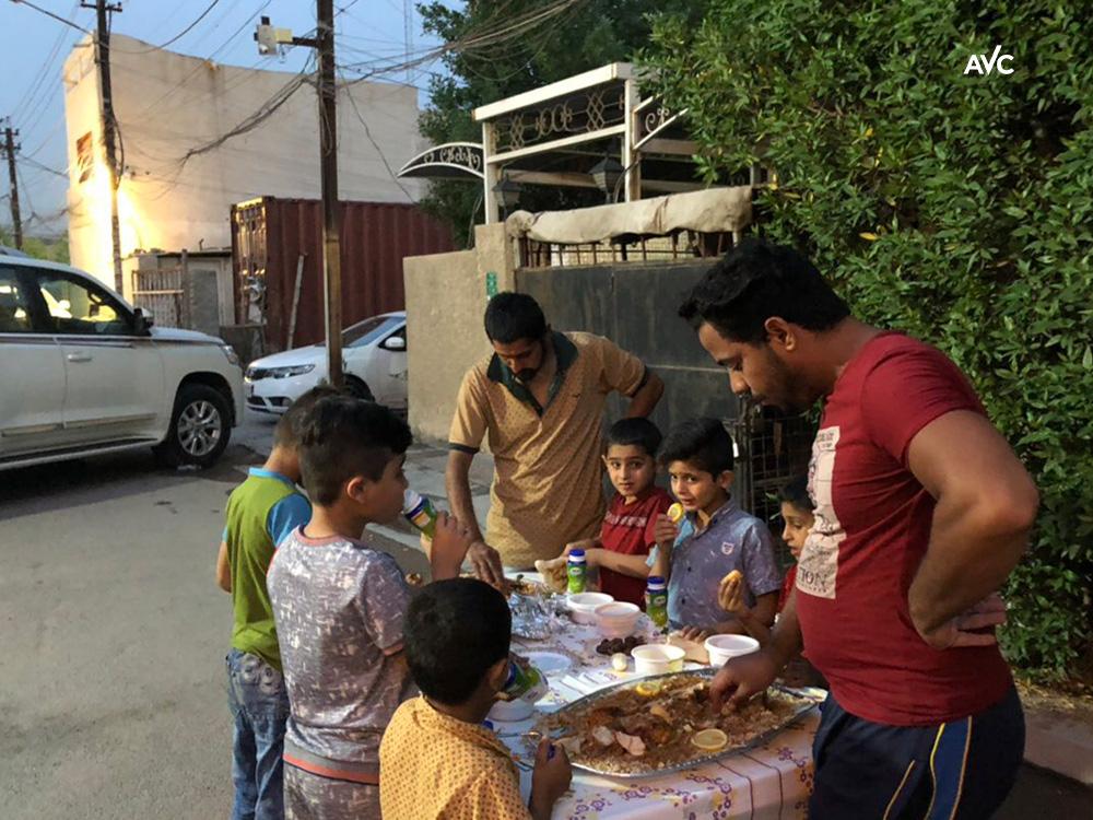 Irak: Christliches Ramadan-Essen