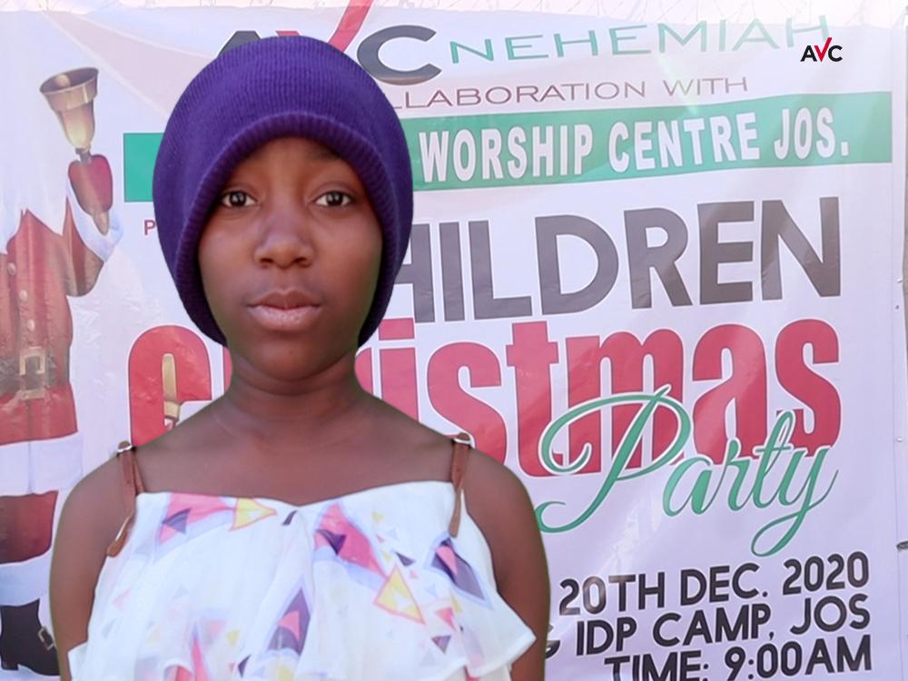 Weihnachtsfreude im Flüchtlingscamp