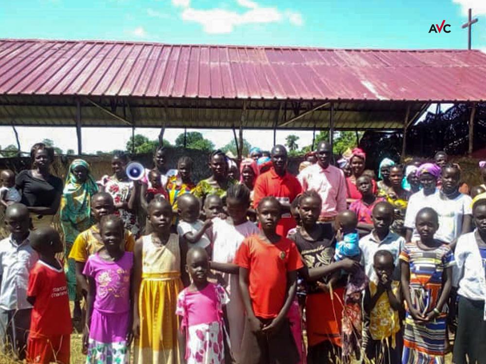 Südsudan: Unter Dach und Fach